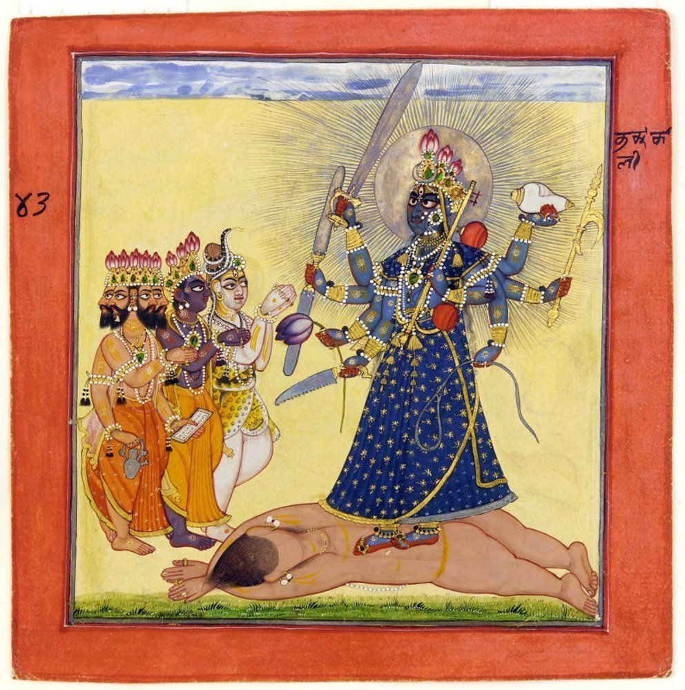 Goddess_Bhadrakali_Worshipped_by_the_Gods-_from_a_tantric_Devi_series.jpg